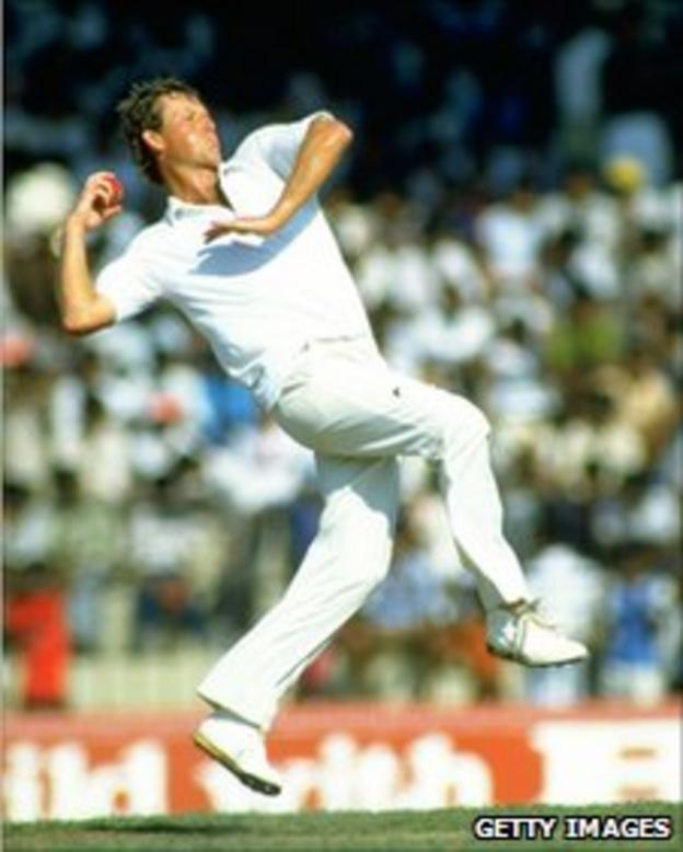 Tim Tremlett played for Hampshire between 1976 and 1991