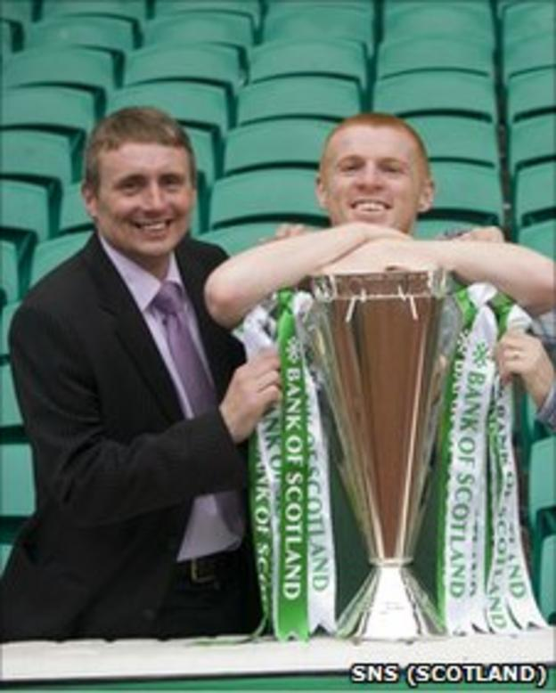 Tom Boyd and Neil Lennon