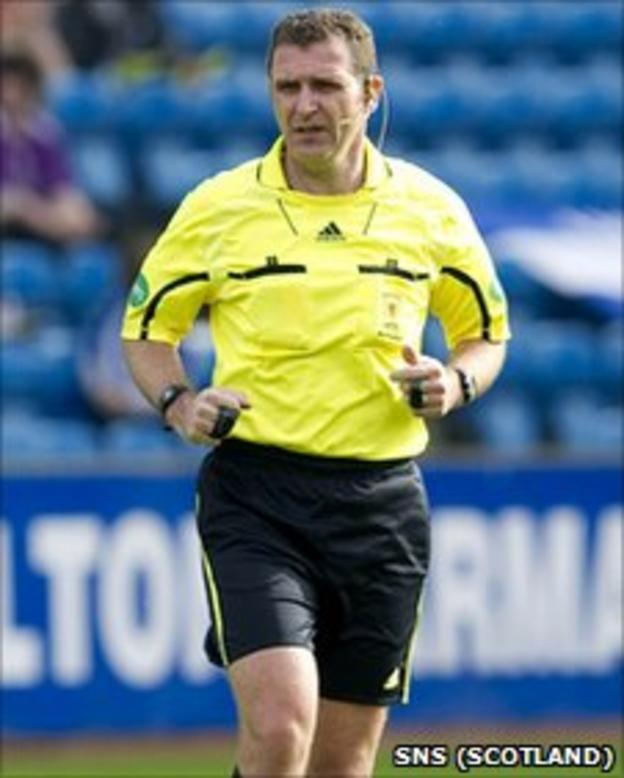 Referee John McKendrick