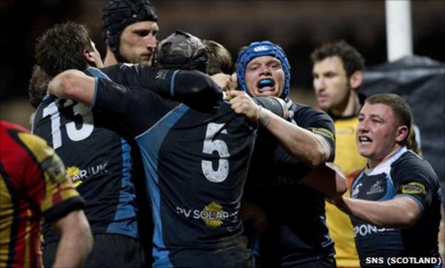 Glasgow open with a home game against Bath