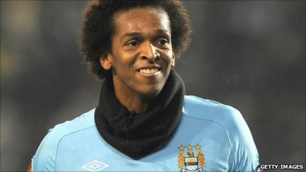 Brazilian striker Jo