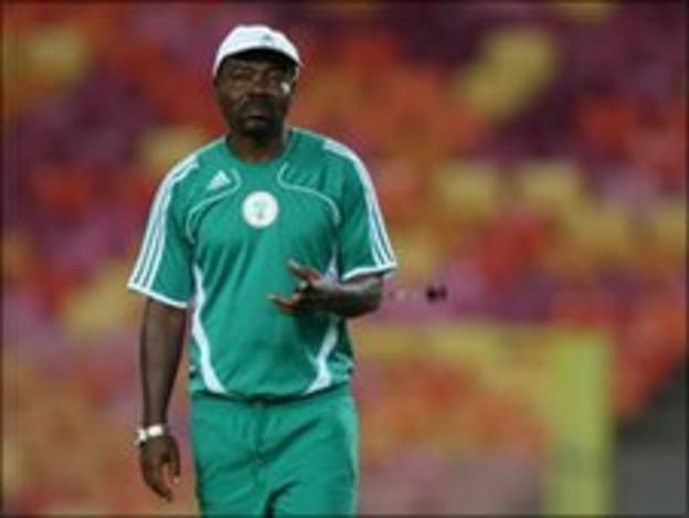 Nigeria under 20 coach John Obuh