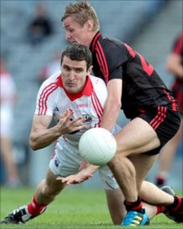 Caolan Mooney and Graham Canty