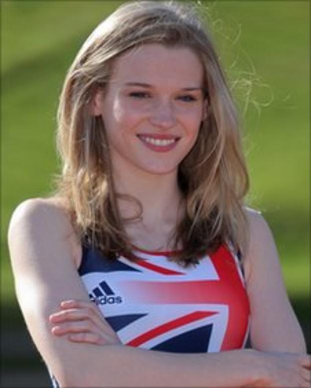 Lagan Valley athlete Katie Kirk