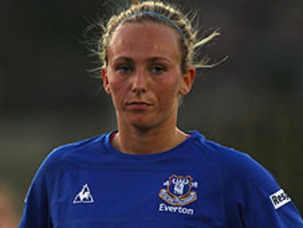 Everton's Toni Duggan