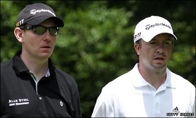 Stephen Gallacher and Martin Laird