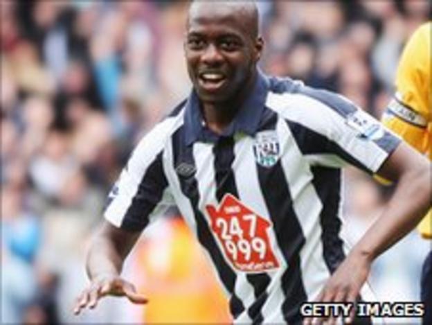 West Bromwich Albion's Youssouf Mulumbu