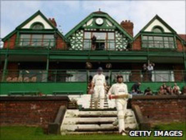 The pavilion at Liverpool