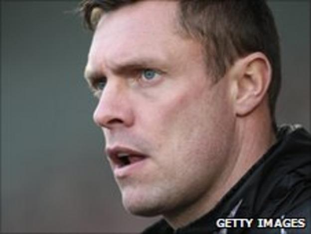 Port Vale first-team coach Geoff Horsfield