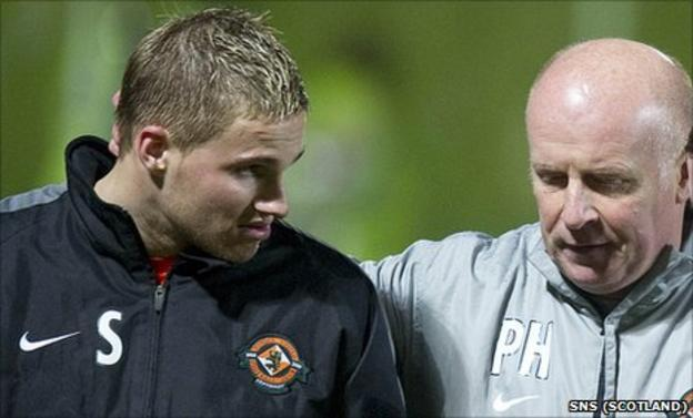 David Goodwillie and Peter Houston