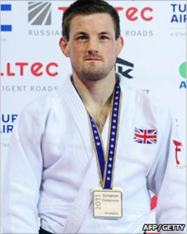 Colin Oates, judo player (detail) (MUSTAFA OZER/AFP/Getty Images)