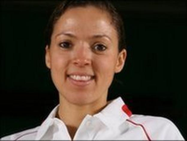 Jersey badminton star Elizabeth Cann