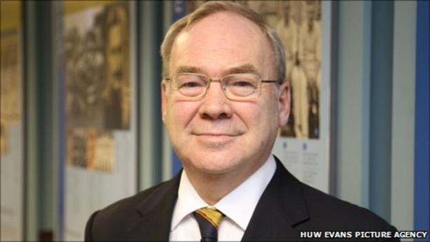 Glamorgan chairman Paul Russell