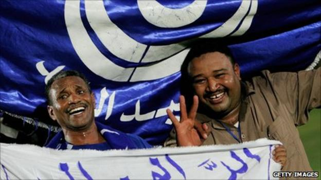 Al Hilal supporters