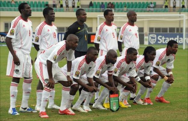 Malawi team photo