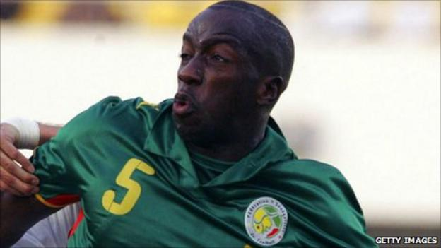 Senegal defender Souleymane Diawara