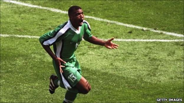 Nigeria's Sunday Oliseh