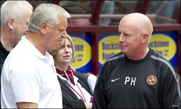 Jim Jefferies and Peter Houston