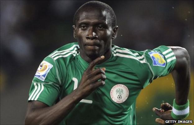 Nigeria under-20 player Uche Nwofor