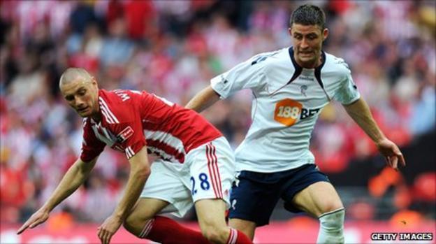 Bolton Wanderers defender Gary Cahill