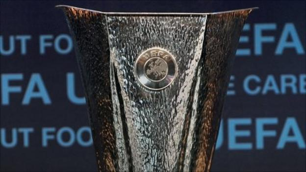 Europe League trophy