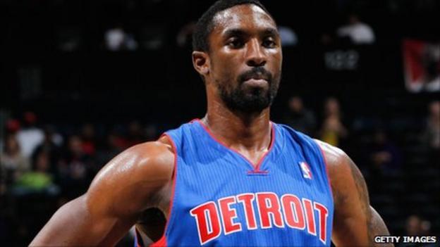 Detroit Pistons' Ben Gordon