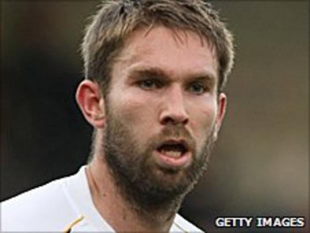 Port Vale defender John McCombe