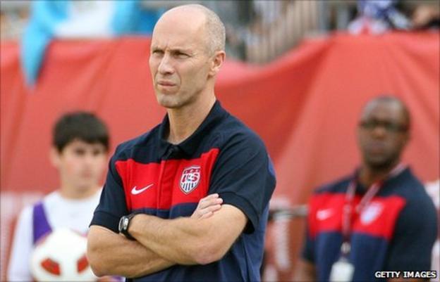 Former USA coach Bob Bradley