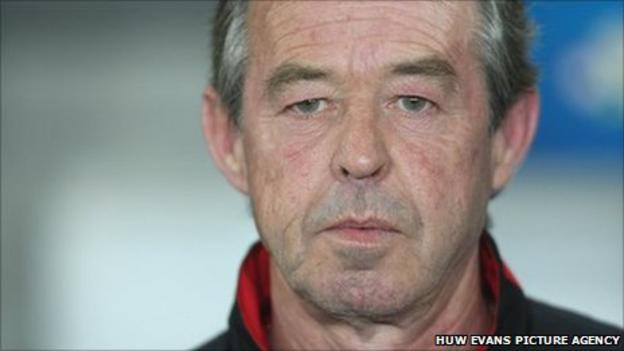 Wales Under-21 coach Brian Flynn