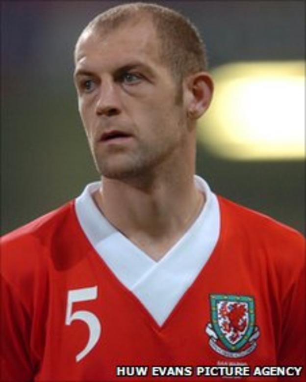 TNS defender Steve Evans