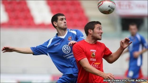 Bangor and Llanelli will be challenging for the Welsh Premier League title