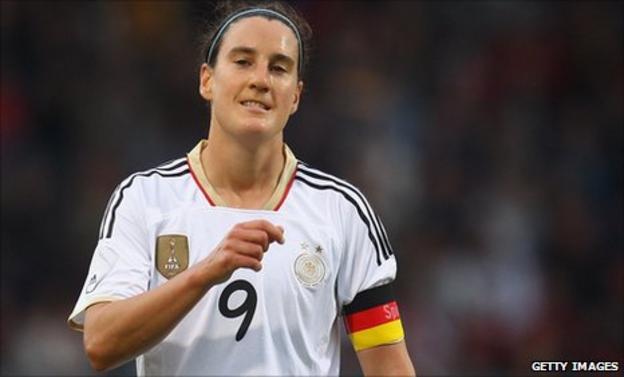 Former Germany footballer Birgit Prinz