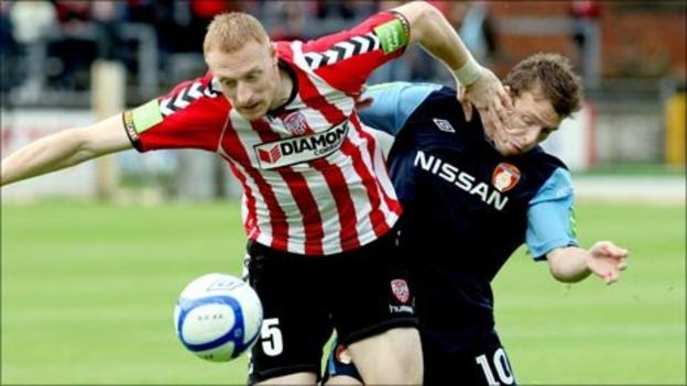 Brandywell action
