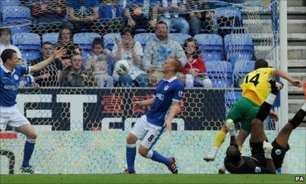 Wes Hoolahan scores for Norwich