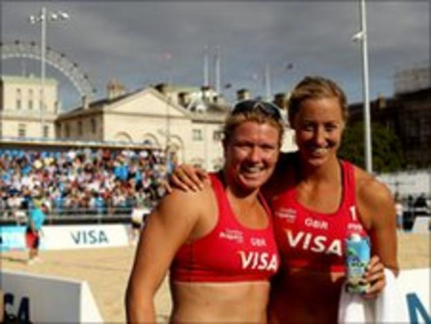 Denise Johns and Lucy Boulton