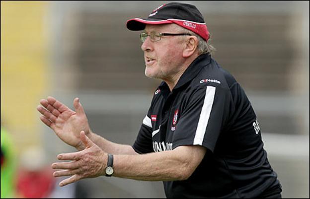 Derry manager John Brennan