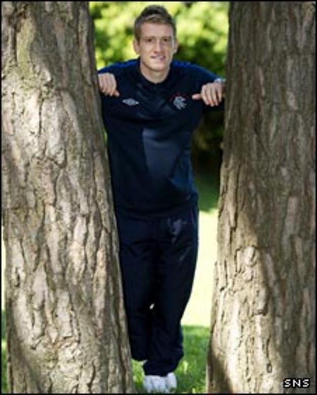 Rangers' Steven Davis