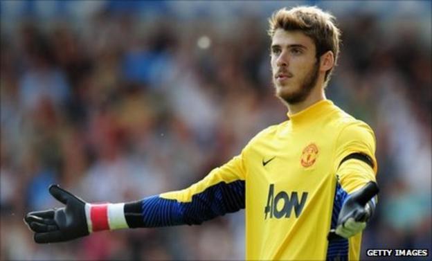 Manchester United's David De Gea