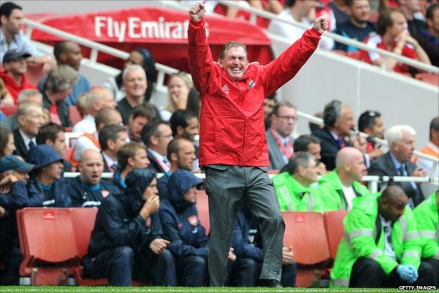 Kenny Dalglish celebrates
