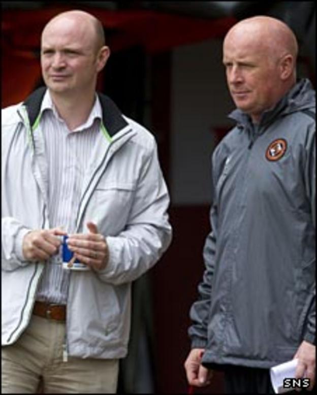 Stephen Thompson and Peter Houston