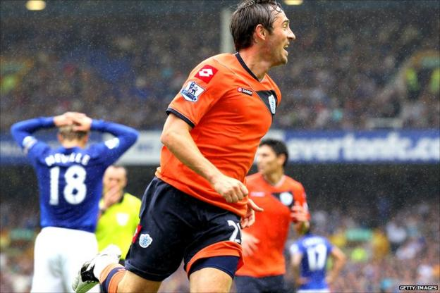 Tommy Smith celebrates QPR's goal