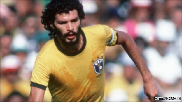 Former Brazil captain Socrates