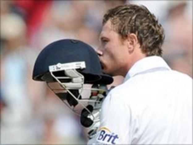 Ian Bell hit a Test-best 235