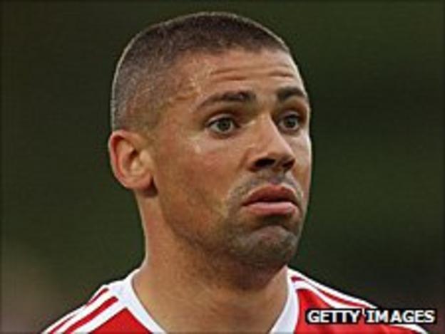 Stoke City striker Jon Walters