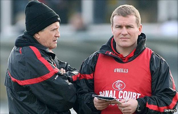 Brian McIver was assistant to Down manager James McCartan for two years