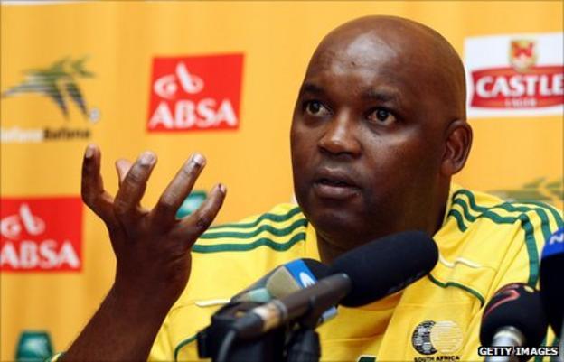 South Africa coach Pitso Mosimane