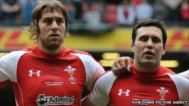 Ryan Jones and Stephen Jones