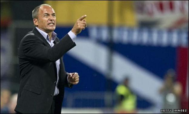 Maribor coach Darko Milanic