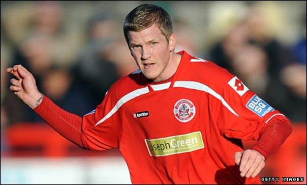 Crawley winger Willie Gibson