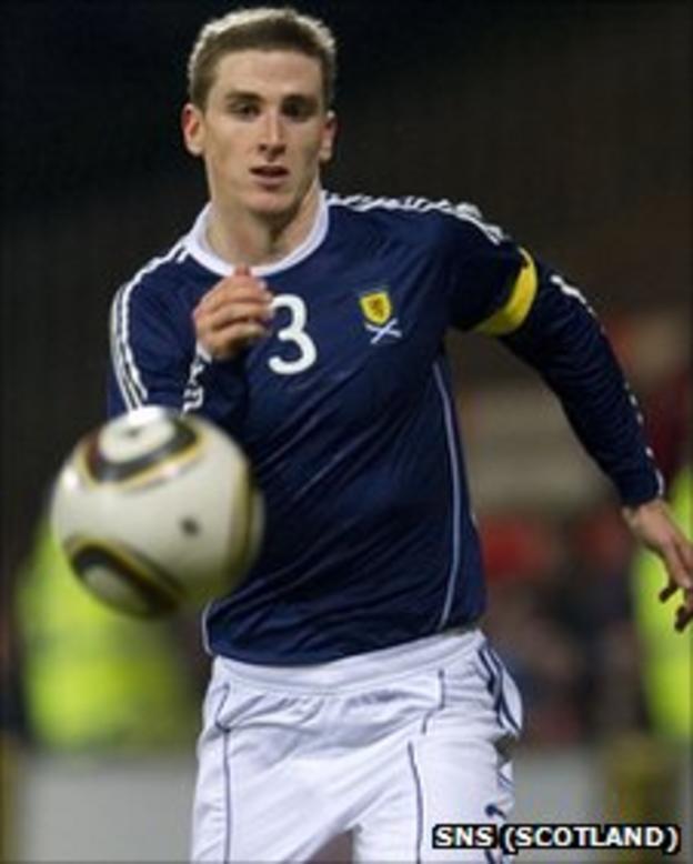 Scotland U21 skipper Paul Hanlon